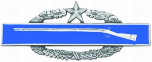 Combat Infantryman Badge 2nd Award CIB