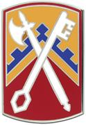 16th Sustainment Brigade Combat Service ID Badges