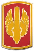 18th Fires Brigade Combat Service ID Badges