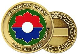 9th Infantry Division Army Challenge Coins