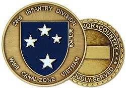 23rd Infantry Division Army Challenge Coins