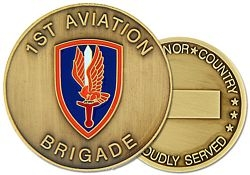 1st Aviation Brigade Army Challenge Coins