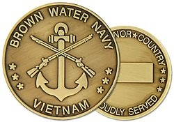 Brown Water Navy Challenge Coins