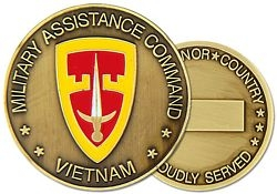MACV Army Challenge Coins