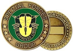 Special Forces Group Army Challenge Coins