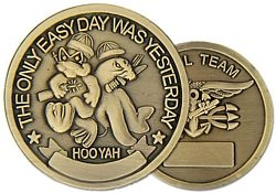 Seal Team Navy Challenge Coins