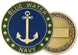 Blue Water Navy Challenge Coins
