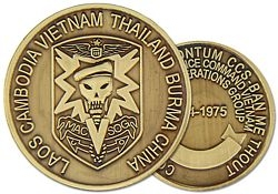 MACV SOG Army Challenge Coins