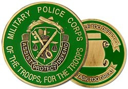 Military Police Corps Army Challenge Coins