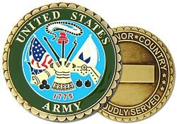 United States Army Challenge Coins