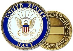 United States Navy Challenge Coins