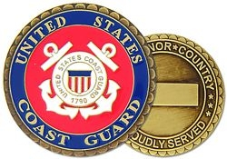 United States Coast Guard Challenge Coins