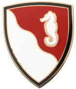 36th Engineering Brigade Combat Service ID Badges