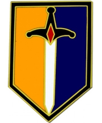 1st Maneuver Enhancement Brigade Combat Service Badge (2 inch)