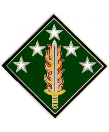 20th Support Command Combat Service Badge (2 inch)