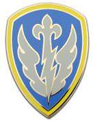 504th Battlefield Surveillance Brigade Combat Service ID Badges
