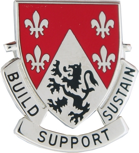 249th Engineer Battalion Crests