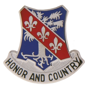327th Infantry Regiment Crests