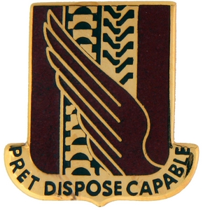38th Support Battalion Crests