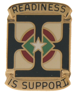 171st Support Group Crests