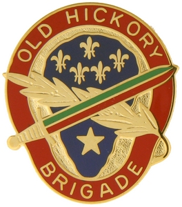 30th Infantry Brigade Crests