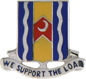 163rd Support Battalion Crests