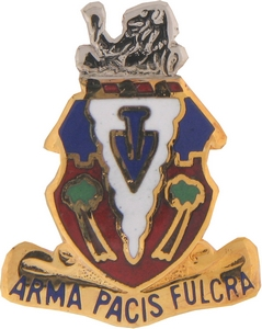 139th Field Artillery Crests