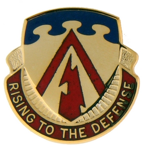 138th Air Defense Artillery Crests