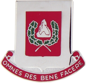 27th Engineer Brigade Crests