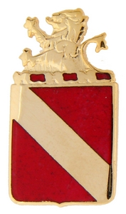 35th Field Artillery Crests