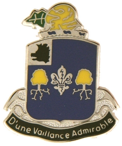 39th Infantry Regiment Crests