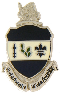 151st Infantry Regiment Crests