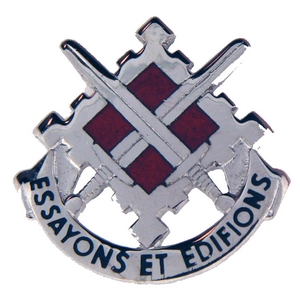 18th Engineer Brigade Crests