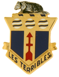 128th Infantry ARNG Crests
