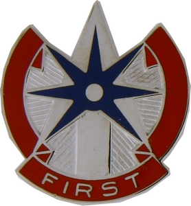 1st COSCOM Support Command Crests
