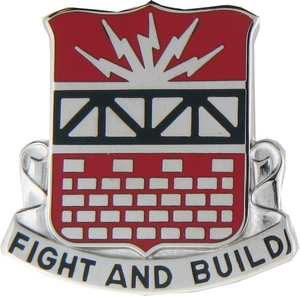 216th Engineer Battalion Crests