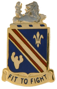 152nd Infantry Battalion Crests