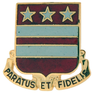 258th Field Artillery Crests