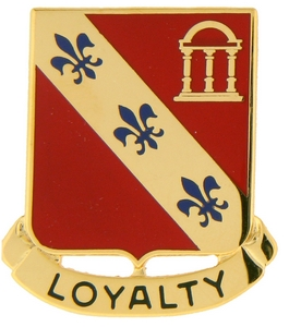 319th Field Artillery Crests