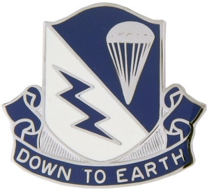 507th Airborne Infantry Regiment Crests