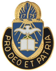 Chaplain Regiment Corps Crests