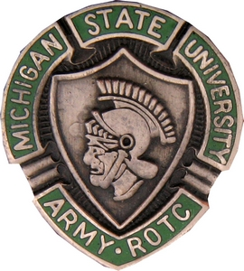 Michigan State University ROTC Crests