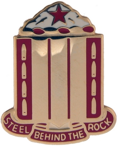 38th Field Artillery Crests