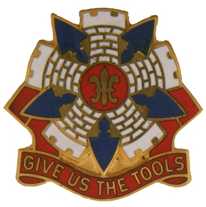 192nd Engineer Battalion Crests