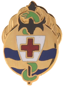 395th Evacuation Hospital Crests