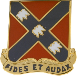 134th Field Artillery Crests
