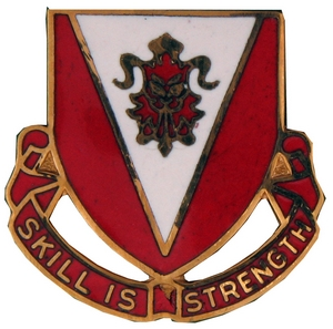 293rd Engineer Battalion Crests