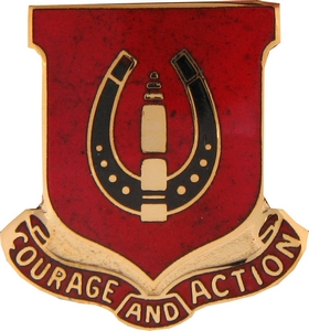 26th Field Artillery Crests