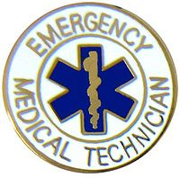 Emergency Medical Technician EMT Hat Pins