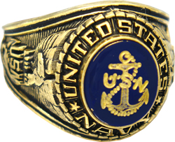 USN Navy Rings, Military